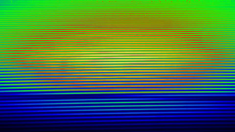 echelle spectrum