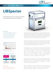 LIBSpector Datenblatt Vorschau