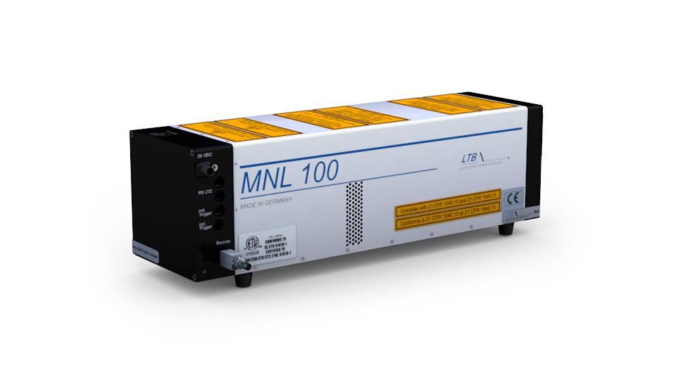 MNL 100 nitrogen laser