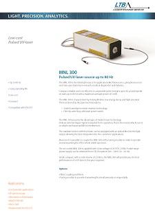 MNL 300 Datenblatt Vorschau