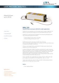 MNL 330 Datenblatt Vorschau