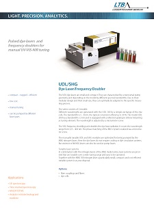 UDL SHG Datenblatt Vorschau