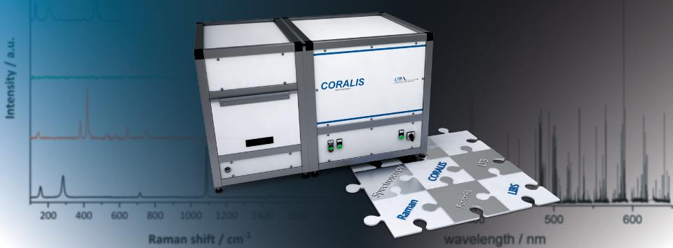 Coralis system RAMAN LIBS