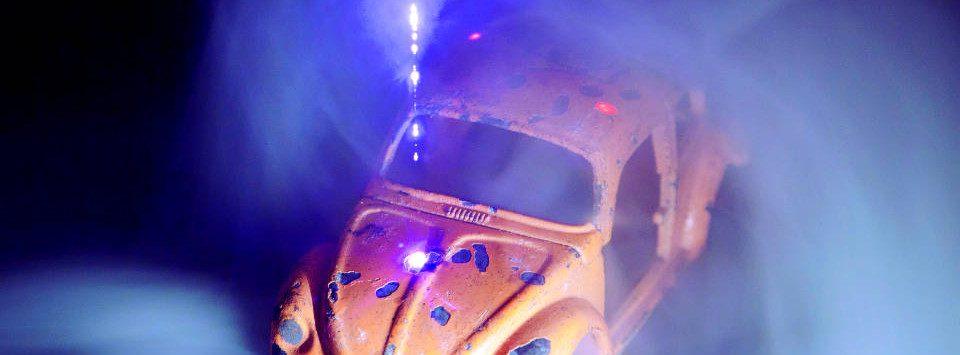 LIBS-Plasma Spielzeugauto