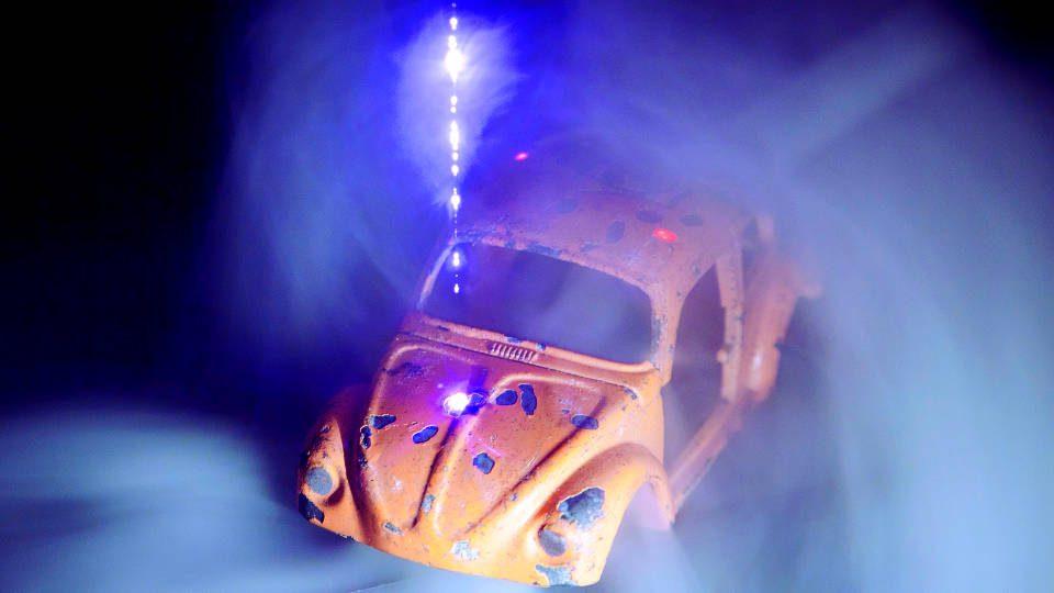 LIBS plasma toy car