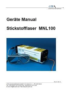 MNL 100 Manual deutsch